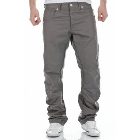 Jack&Jones  Luźne Spodnie Jeansowe Szare