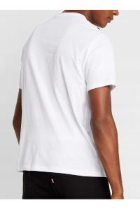 ARMANI EXCHANGE Biała Koszulka O-neck klasyczna