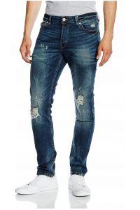 Only Sons Jeansy niebieskie Dziury stylowe