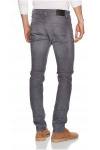 Only Sons Miękkie szare jeansy Slim Fit