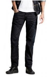 Jack & Jones Ciemy Granat  Jeansy Anti Fit Luźne