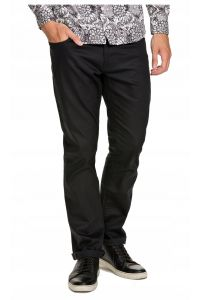 Selected Homme Czarne Proste Jeansy Regular