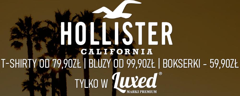 Hollister w Rzeszowie w LUXED Marki Premium!