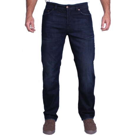 ONLY & SONS KLASYCZNE GRANATOWE  JEANSY DIPS 2150