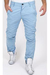 Jack & Jones Chinosy Błękitne Spodnie Męskie
