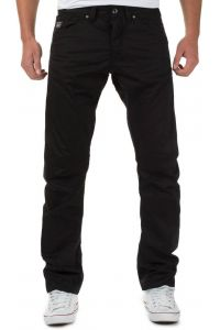 JACK & JONES Czarne Spodnie Materiałowe Luźne Anti Fit
