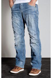 Jack & Jones Niebieskie Jeansy Luźniejsze Anti Fit