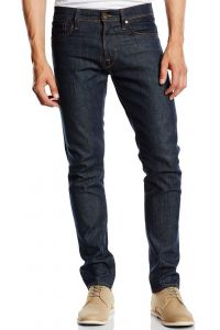 SELECTED HOMME RAW DENIM JEANSY MĘSKIE SLIMOWANE