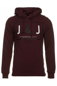 Jack &  Jones Bordowa Bluza Noa Port Royal