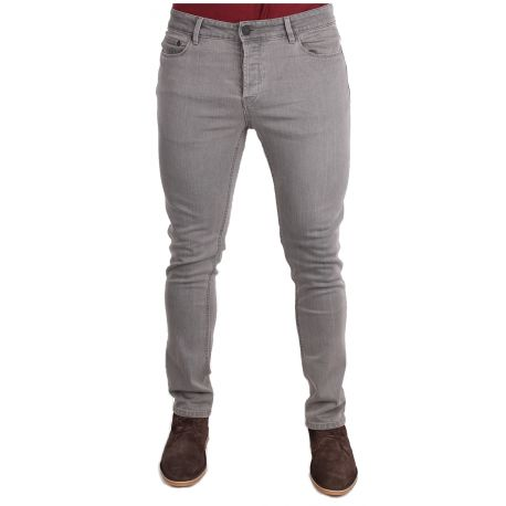 ONLY & SONS SZARE JEANSY RURKI SLIM