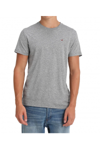 HOLLISTER California Grey Tshirt Szary O-Neck
