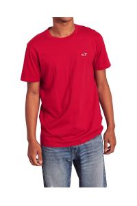 HOLLISTER California Red Tshirt Czerwony O-Neck