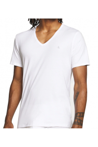 Calvin Klein White V-Neck