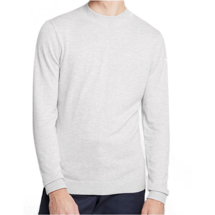 HOLLISTER Light Grey Sweter Męski
