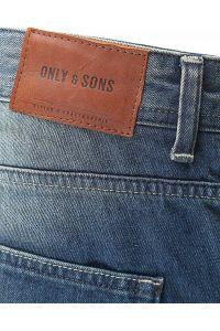 Only Sons Jeansy Blue Denim Przetarcia