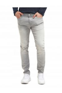 Only Sons Jeansy męskie Jasne Szare Slim Fit