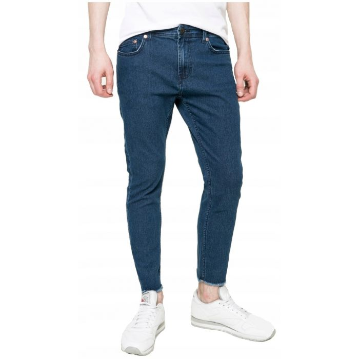 7/8 Spodnie Only&Sons Granatowe Slim Fit