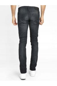 Selected Homme Ciemny Grafit Jeansy Slim Fit
