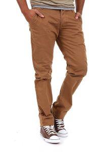 Jack & Jones Chinosy Regularne Brązowe Spodnie Męskie Proste Nogawki