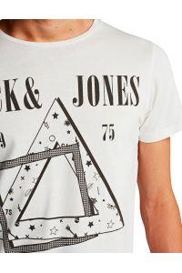 JACK &  JONES BIAŁA KOSZULKA MORRIS S